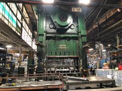 1000 ton Danly rear