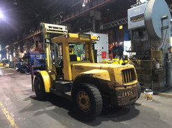 Hyster H250 rear