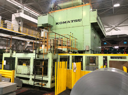 1500 ton Komatsu front