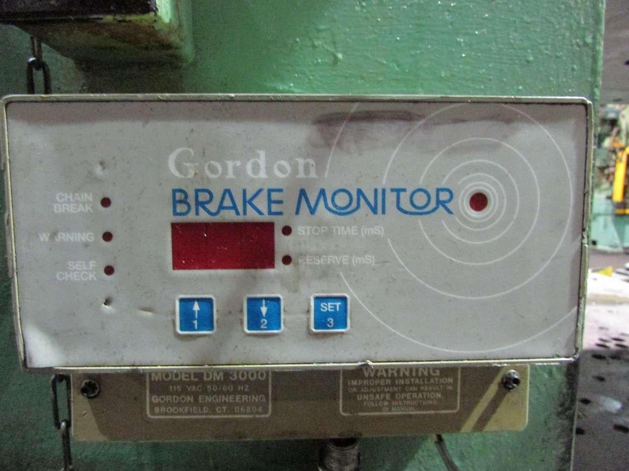 200 ton USI Clearing brake monitor