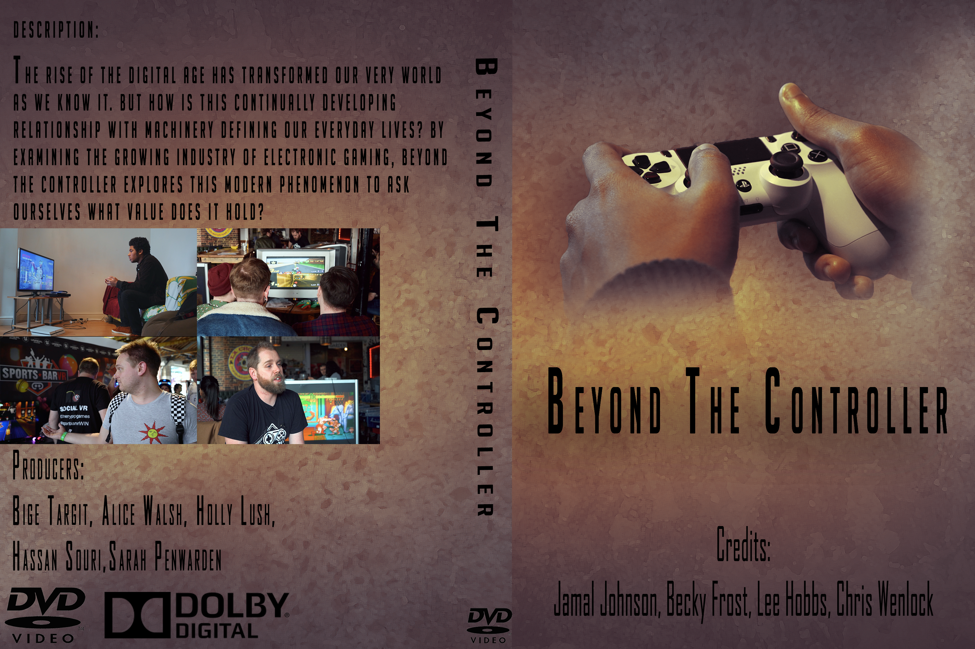 beyond the controller cover