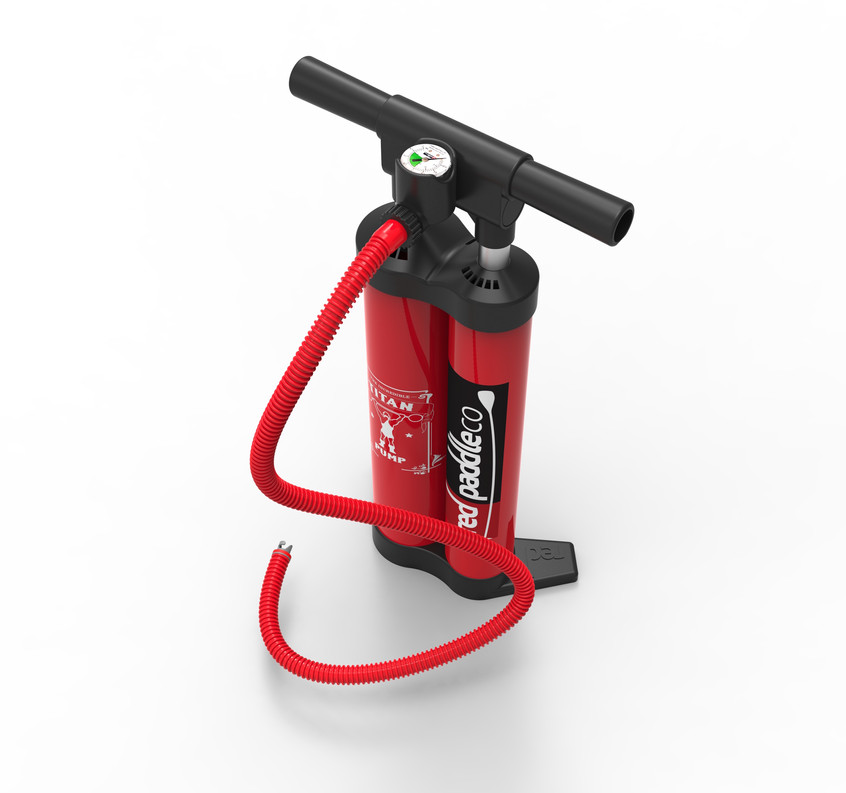 red paddle titsn pump
