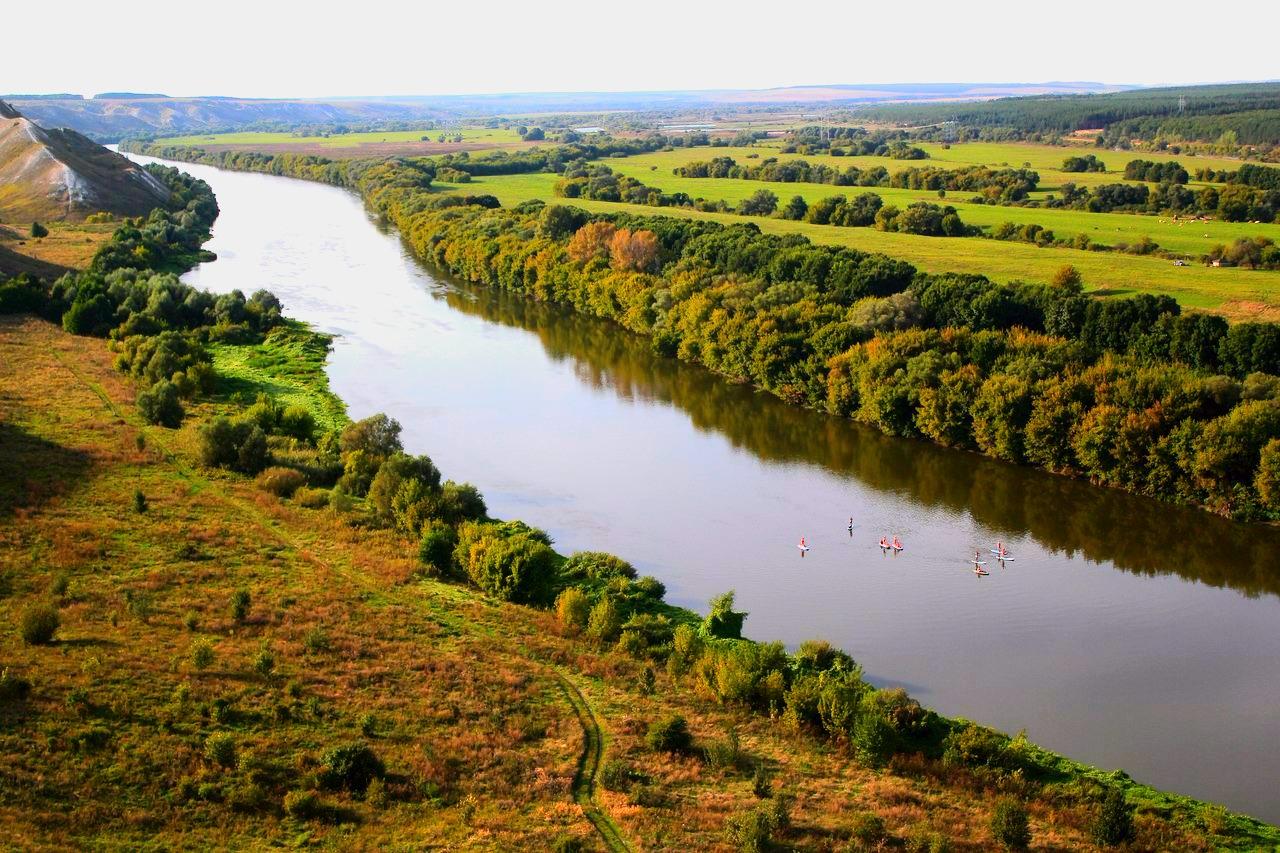 походы по реке воронеж