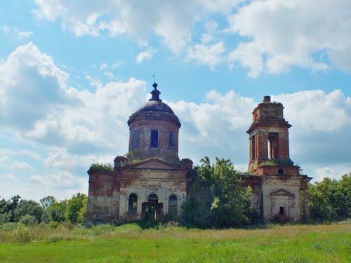 Старая церковь на Дону