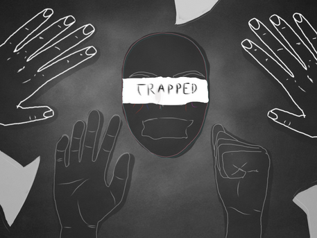 """""""Trapped"""""""