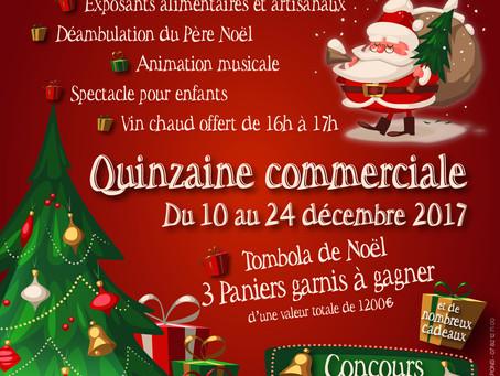 Marché de Noël à Pons le Dimanche 10 Décembre