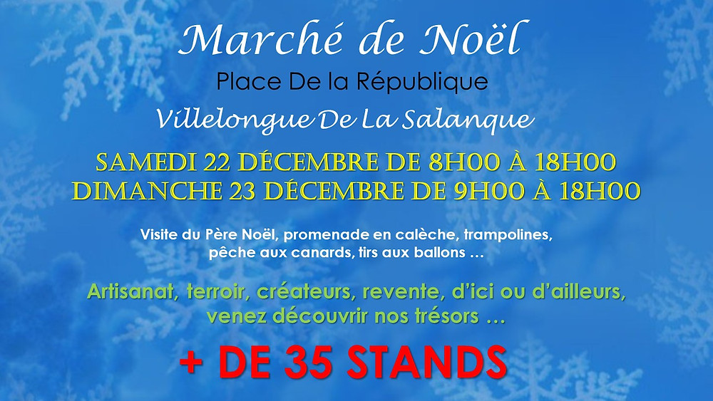 Marché de Noël Villelongue de la Salanque