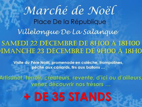 Marché Noël Villelongue de la Salanque