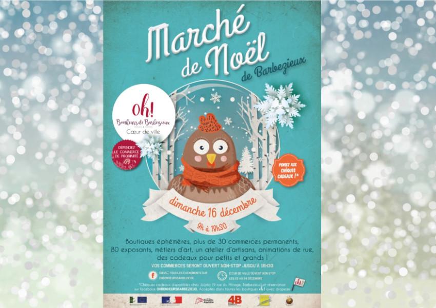 marché Noël Barbezieux st Hilaire