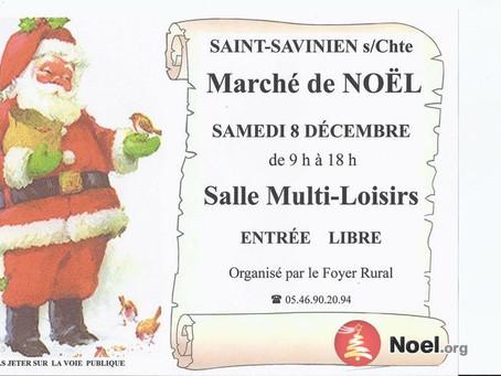 Marché Noël St Savinien