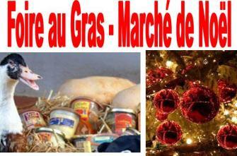 Marché de Noël et foire au gras à Pons