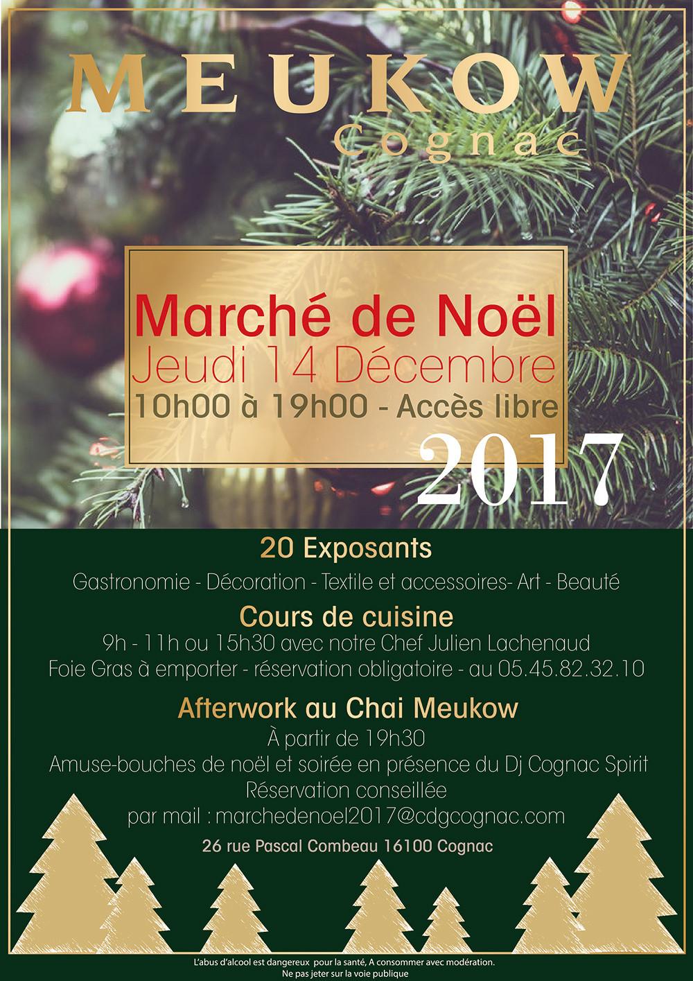 Marché de Noël Meukow Cognac