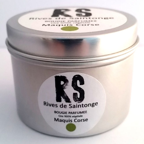 Bougie parfumée naturelle Maquis Corse