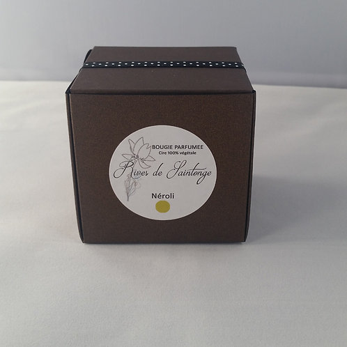 Bougie parfumée naturelle Néroli verre