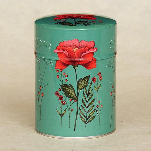 Bougie Luxe papier Japonais Fleur rouge