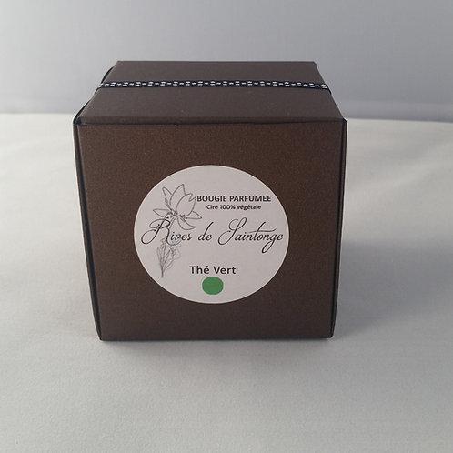 Bougie parfumée naturelle Thé Vert verre