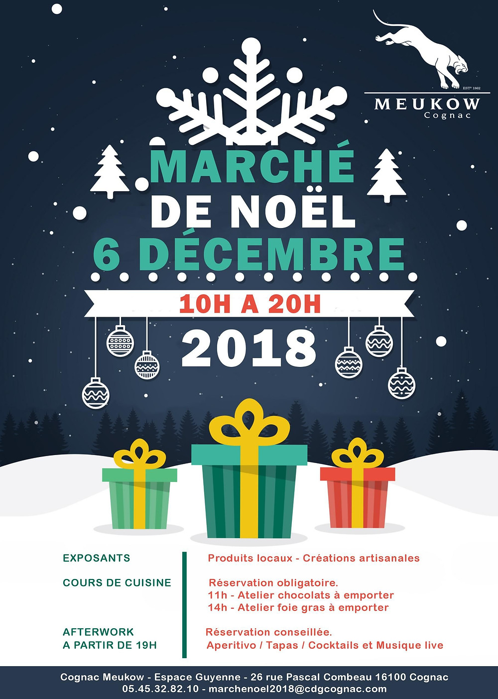 Meucow Marché de Noël 2018