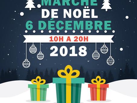 Marché de Noël chez Meucow Cognac