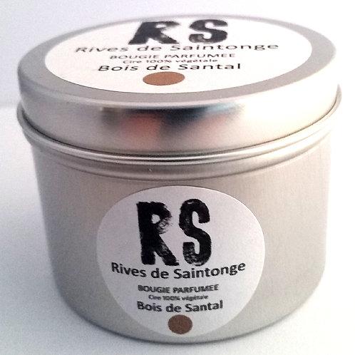 Bougie parfumée naturelle Bois de Santal