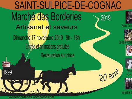 20 ème Marché des Borderies à St Sulpice de Cognac