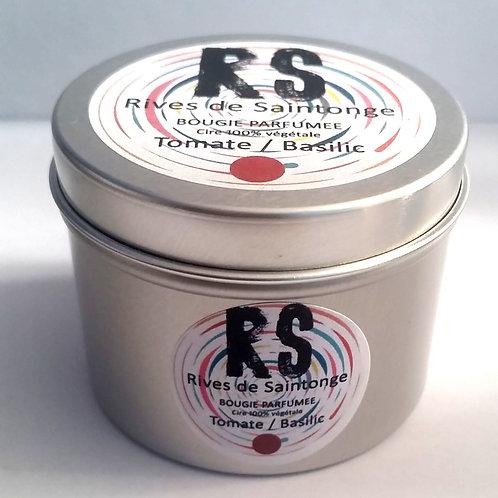 Bougie parfumée naturelle Tomate basilic