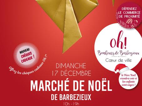 Marché de Noël de Barbezieux St Hilaire