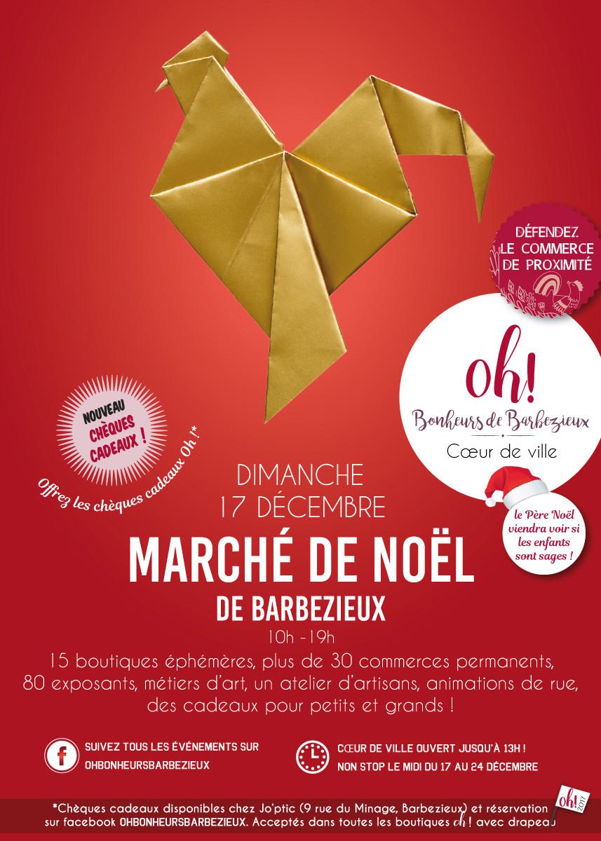 Marché Noël Barbezieux