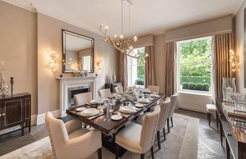 dining room classic interior design ideas for gurgaon homes