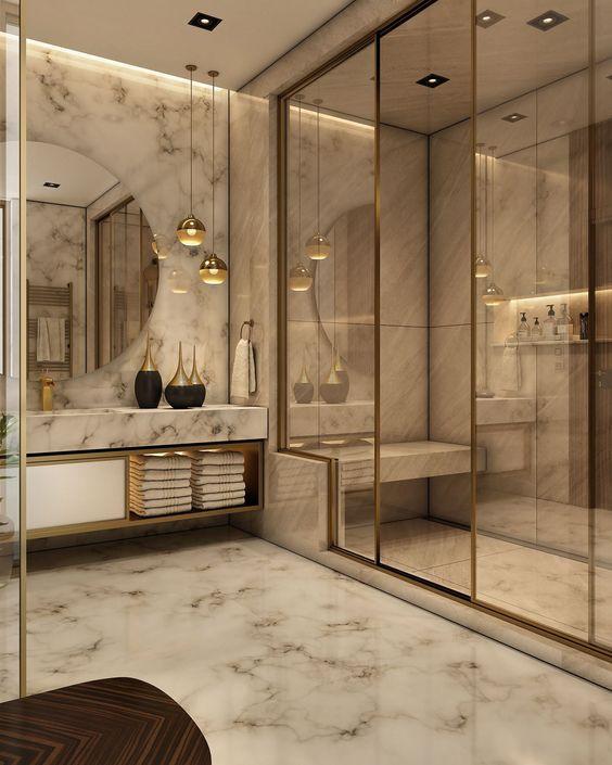 Best Wet-Room Bathroom Interior Designing Ideas