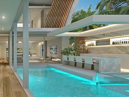 Experience the Infinite Luxurious Interior with Swimming Pools