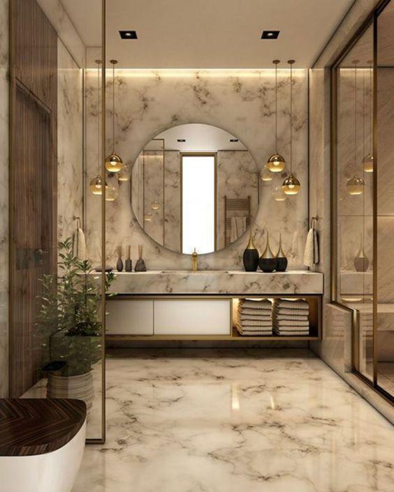 Wet-Room Bathroom