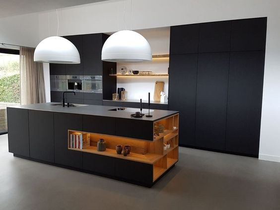 Choose Open Shelves for Indian Kitchen