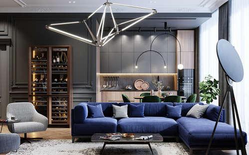 mindful interior design for m3m lattitude gurgaon