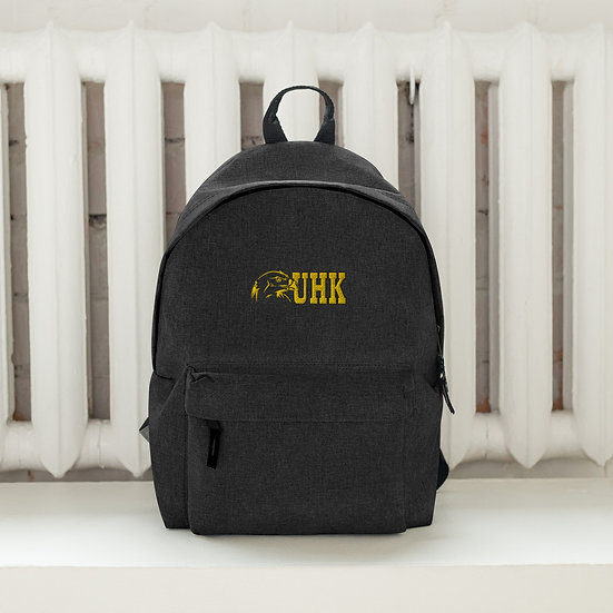 University of Hard Knox Embroidered Backpack