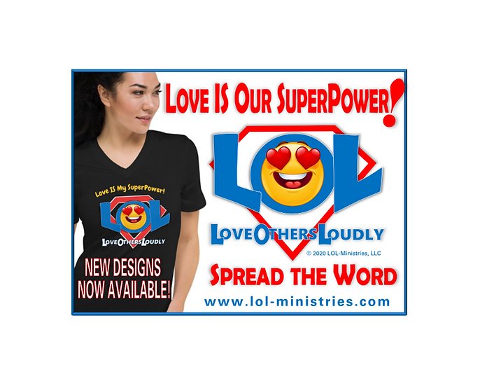 Love IS My SuperPower!