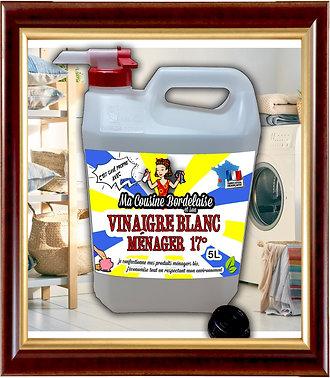 Vinaigre blanc ménager 17° - 5 Litres