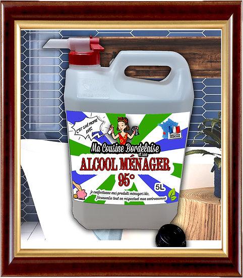 Alcool ménager 95° - 5 Litres