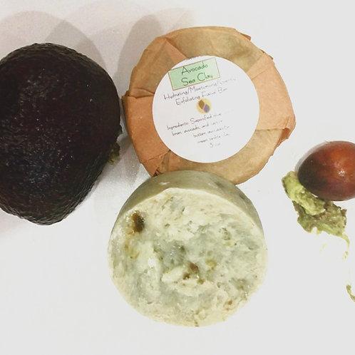 Avocado Sea Clay Soap
