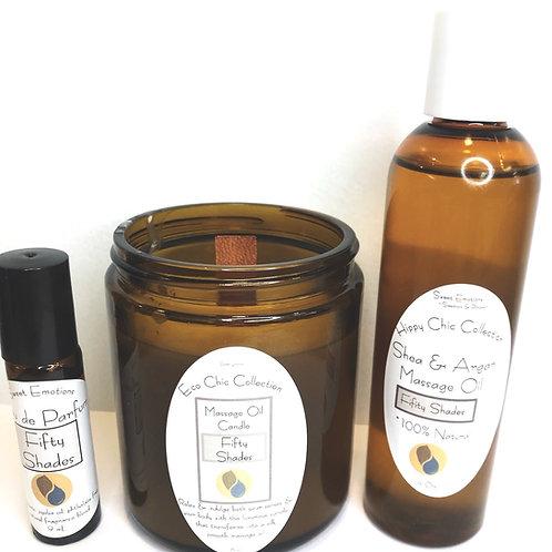 Massage Oil & Perfume Gift set
