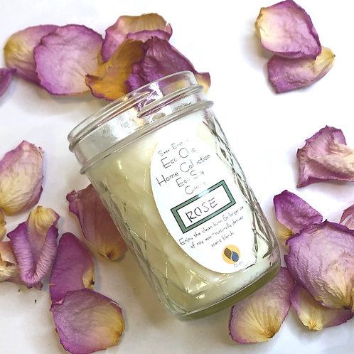 English Tea Rose Candle