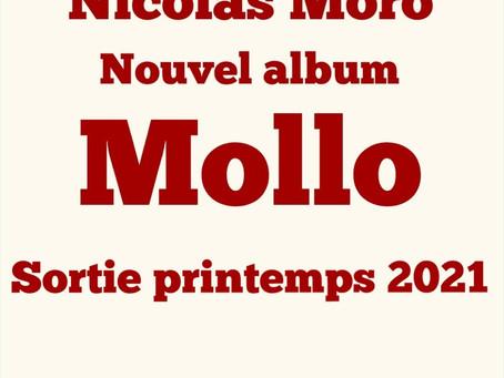 Lancement de la souscription  du deuxième album: Mollo
