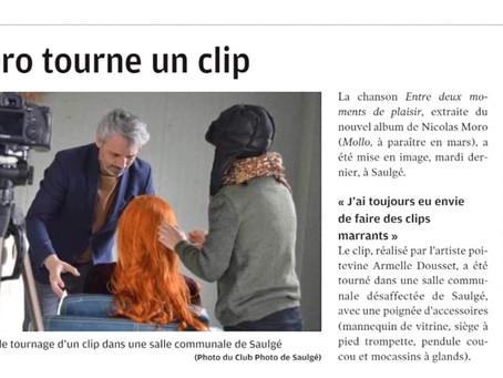 """Tournage clip """"Entre deux moments de plaisir"""""""