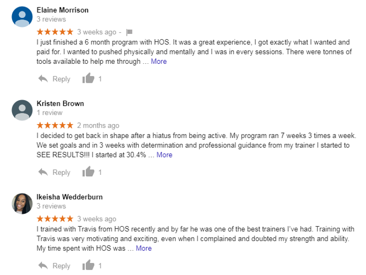 House of Sweat Reviews