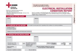 Electrical testing & Certificates