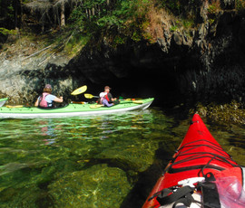 Sea Cave in the Sansum Narrows