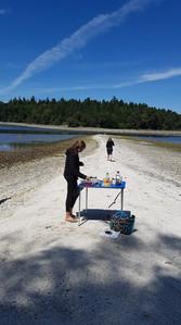 Lunch Break on Tent Island