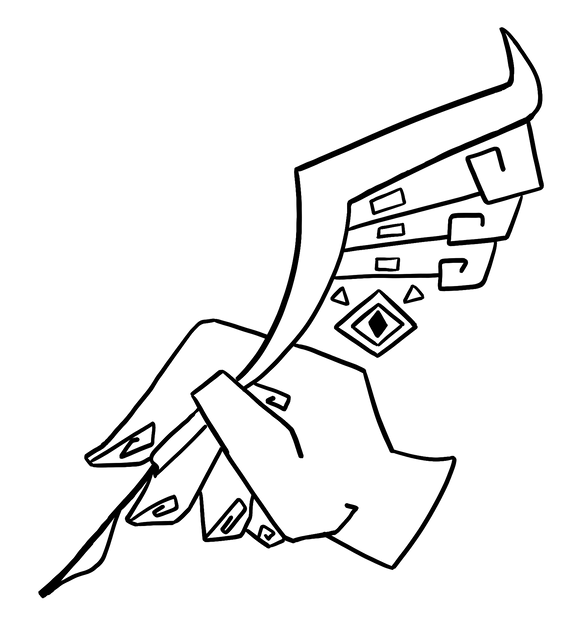 Pattern Design - Pen Crest