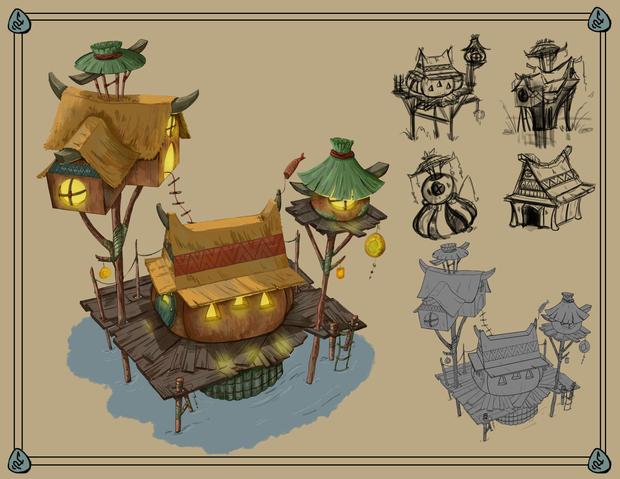 Building Layout - Visual Development