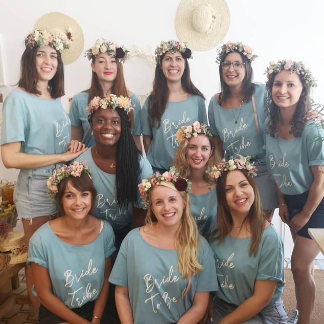 workshop coroa de flores