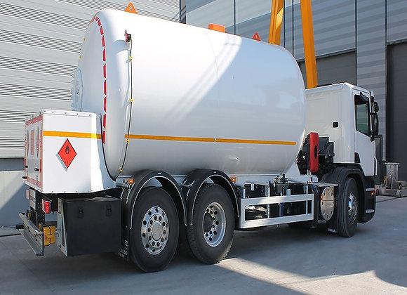 LPG Bobtail Tankers